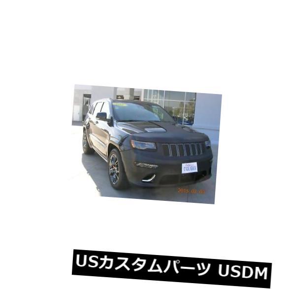 新品 コルガンフロントTスタイルマスクブラ2個フィット14-17ジープグランドチェロキーSRT W / Lic.W / Sen Colgan Front T-Style Mask Bra 2pc.Fits 14-17 Jeep Grand Cherokee SRT W/Lic.W/Sen画像