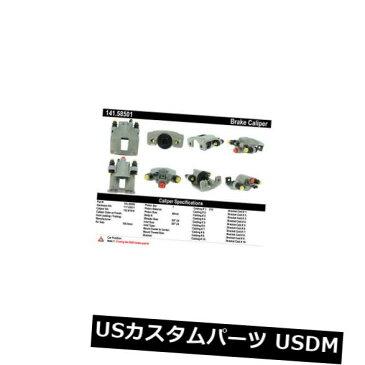 ブレーキキャリパー Centric Parts 141.58501後部右ハードウェア付きブレーキキャリパー Centric Parts 141.58501 Rear Right Rebuilt Brake Caliper With Hardware