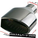 マフラーカッター Black1ペア2.5