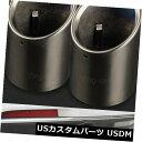 マフラーカッター キャデラックATS用2クロームステンレス鋼排...