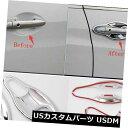 ドア部分カバー ホンダVezel HR-V HRV 2014 2015用ABSクロー...