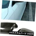 カーボン素材 アウディA4 B8 2008-2009のために合う2PCSカー...