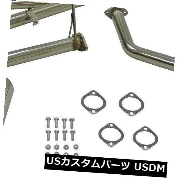 輸入マフラー OBX Catback Exhaust For 1991 to 1999 Mitsubishi 3000GT VR4 US GTO Japan OBX Catback Exhaust For 1991 To 1999 Mitsubishi 3000GT VR4 US GTO Japan