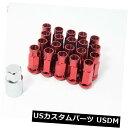 USナット 20pcs Aodhan Xt51 12X1.5レッドチューナーレーシン...