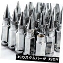 USナット 92mm AodHan XT92 12X1.25スチールクロームスパイク...