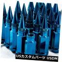 USナット 92mm AodHan XT92 12X1.25スチールブルースパイクラ...