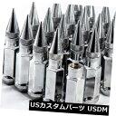 USナット 92mm AodHan XT92 12X1.5スチールクロームスパイク...