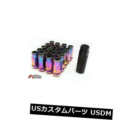 USナット (20 PC)12x1.25 Varrstoen VT48 Neo Chrome Lug Nuts Fits Nissan 300z 350z (20 PC) 12x1.25 Varrstoen VT48 Neo Chrome Lug Nuts Fits Nissan 300z 350z