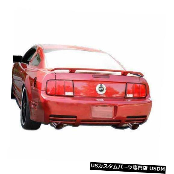 Rear Body Kit Bumper 05-09フォードマスタングサリーンスタイルKBDウレタンリアボディキットバンパー!!! 37-2190 05-09 Ford Mustang Sallen Style KBD Urethane Rear Body Kit Bumper!!! 37-2190