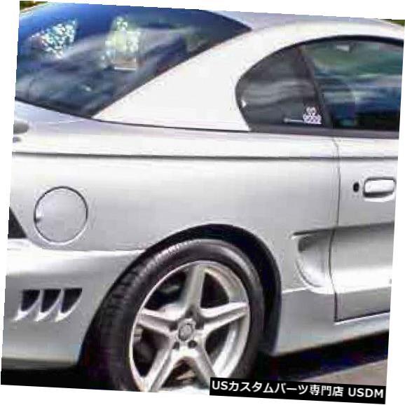 Rear Body Kit Bumper 94-98フォードマスタングサリーンスタイルKBDウレタンリアボディキットバンパー!!! 37-2050 94-98 Ford Mustang Sallen Style KBD Urethane Rear Body Kit Bumper!!! 37-2050