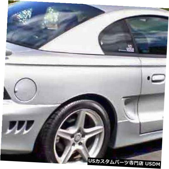 Rear Bumper 94-98フォードマスタングサリーンスタイルKBDウレタンリアボディキットバンパー!!! 37-2050 94-98 Ford Mustang Sallen Style KBD Urethane Rear Body Kit Bumper!!! 37-2050