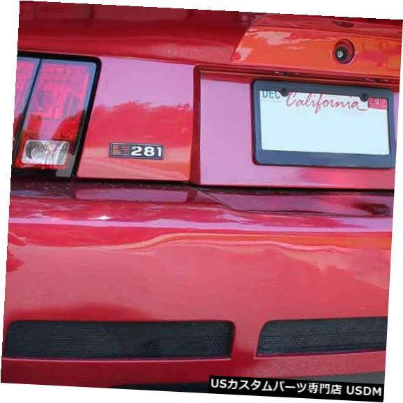 Rear Bumper 99-04フォードマスタングサリーンスタイルKBDウレタンリアボディキットバンパー!!! 37-2203 99-04 Ford Mustang Sallen Style KBD Urethane Rear Body Kit Bumper!!! 37-2203