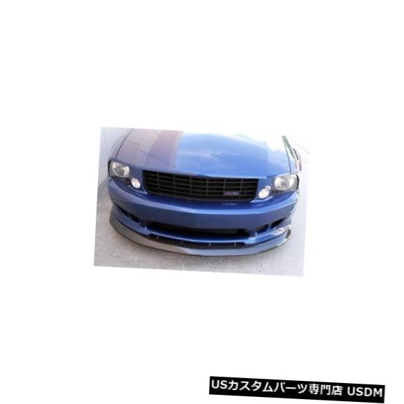 Front Bumper 05-09フォードマスタングカーボンファイバーサリーンフロントバンパーリップボディキット!!! TC10024-LG67 05-09 Ford Mustang Carbon Fiber Saleen Front Bumper Lip Body Kit!!! TC10024-LG67