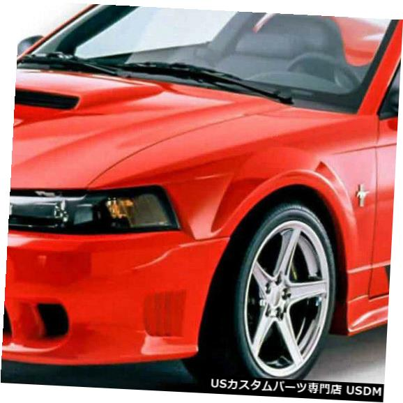 Front Bumper 99-04フォードマスタングサリーンスタイルKBDウレタンフロントボディキットバンパー!!! 37-2202 99-04 Ford Mustang Sallen Style KBD Urethane Front Body Kit Bumper!!! 37-2202