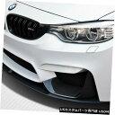 Spoiler 14-18 BMW M3 Mパフォーマンスルックカーボンファイバーフロントバンパーアドオンボディキット!!! 112245 14-18 BMW M3 M Perf Look Carbon Fiber Front Bumper Add On Body Kit!!! 112245