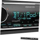In-Dash Kenwood KMM-BT325UシングルディンBluetooth SiriusX...