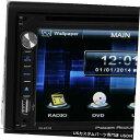 In-Dash Power Acoustik 6.5? 2005-2007日産フロンティア向...