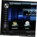 In-Dash Power Acoustik 6.5? 2010/2011年ホンダCR-V用DVD /...