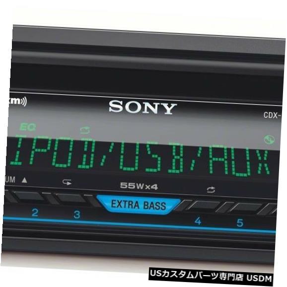 In-Dash 新しいSONY CDX-G3205UV 1DIN CAR MP3 CDステレオレシーバー/シリウ S READY USB AUX NEW SONY CDX-G3205UV 1DIN CAR MP3 CD STEREO RECEIVER/SIRIUS READY USB AUX