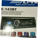 In-Dash Alpine CDE-143BT In Dash Receiver Bluetooth Iphon...