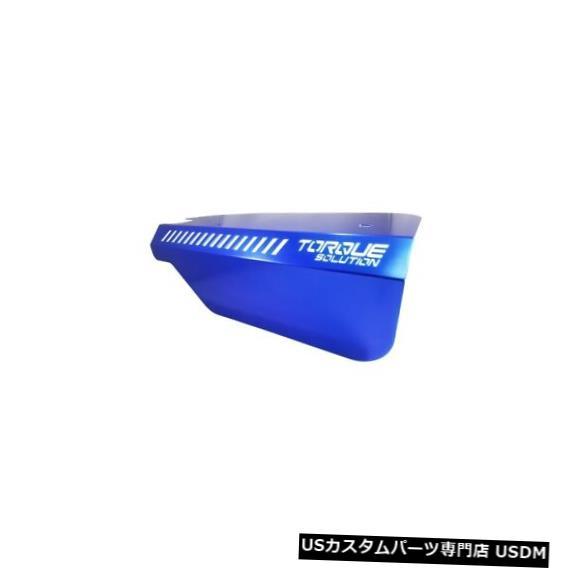 駆動系パーツ, その他  WRX 15 FXT 14 FA20DIT Torque Solution Engine Pulley Cover Blue Fits Subaru WRX 15FXT 14 FA20DIT