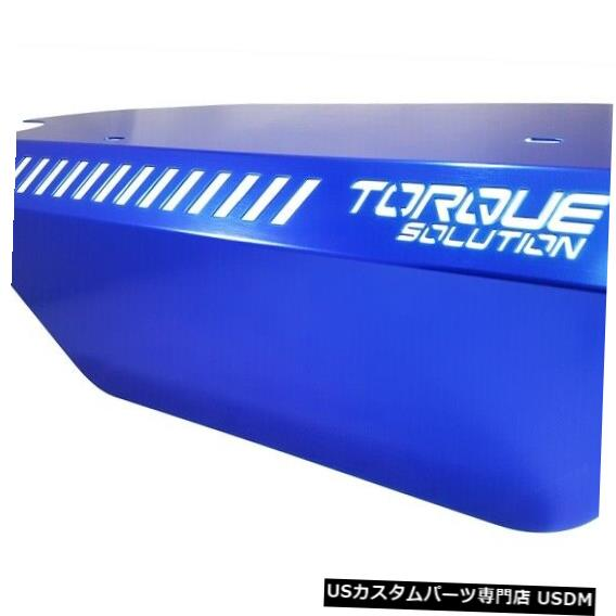 駆動系パーツ, その他  WRX 2015 FA20DIT TS-SU-289BU Torque Solution Engine Pulley Cover Blue For For WRX 2015 FA20DIT TS-SU-289BU
