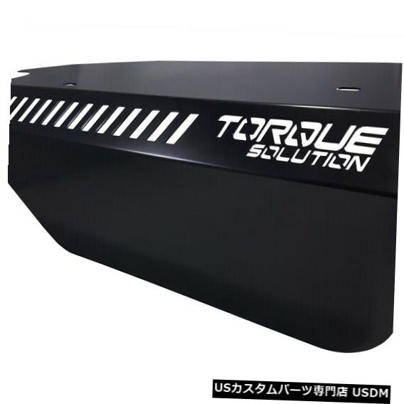駆動系パーツ, その他  WRX 2015 FA20DIT TS-SU-289BK Torque Solution Engine Pulley Cover Black For For WRX 2015 FA20DIT TS-SU-289BK