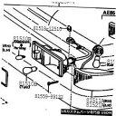 Turn Signal Lamp トヨタ81510-80038フロントターンシグナル...
