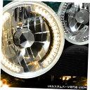 Headlight 7インチラウンドH6024 H6014 H6017クロームハウジ...