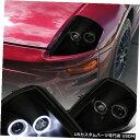 Headlight 2000-2005 Mitsubishi Eclipse Black Smoke L + R ...