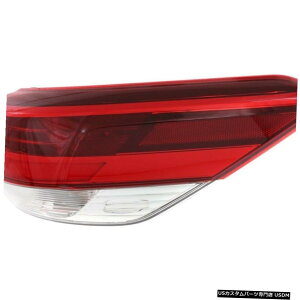 Tail light FIT TOYOTA HIGHLANDER 2017-2018 RIGHT PASSENGER OUTER TAILLIGHTテールライトランプ FIT TOYOTA HIGHLANDER 2017-2018 RIGHT PASSENGER OUTER TAILLIGHT TAIL LIGHT LAMP