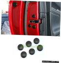 エアロパーツ 6PCS車のドアのネジ保護カバートリムのためにレ...