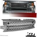 グリル 2005-2009ランドローバーディスカバリー3 Lr3をグレー...