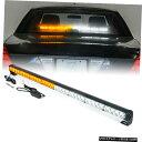 グリル Xpriteホワイト/イエロー35Inch LEDストロボライトバ...
