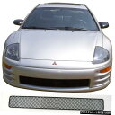 グリル CCG MESH GRILL INSERT FOR 00-02三菱ECLIPSE BLACK D...