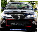 グリル Fits 2004-2006ポンティアックGTOブラック低バンパー...