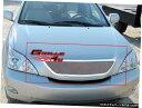 グリル Fits 2004-2006レクサスRX330ステンレスメッシュメイ...