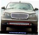 グリル Fits 2006-2008インフィニティFXシリーズ低いバンパー...