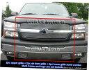 グリル Fits 2003-2005シルバラード1500 / 1500HDビレットグ...