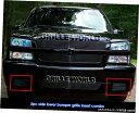 グリル Fits 03-06シボレーシルバラード1500 SSブラックバン...