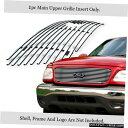 グリル Fits 1999-2002フォードエクスペディションのロゴ表示...
