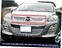 グリル Fits 2010-2012マツダCX7 I / CX7 sのステンレスメッ...
