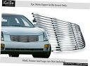 グリル Fits 2003-2007キャデラックCTS Stainlesss鉄鋼ビレッ...