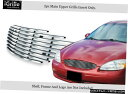 グリル Fits 2000-2003フォードトーラスステンレス鋼ビレット...