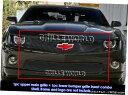 グリル Fits 2010-2013シボレーカマロSS V8ロングW /ロゴ表示...