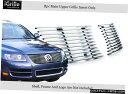 グリル 2003-2007 VWフォルクスワーゲントゥアレグステンレス...