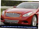 グリル Fits 2008-2011インフィニティG37ステンレスメッシュ...