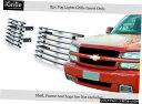 グリル Fits 2003-2006シボレーシルバラード1500 SSバンパー...