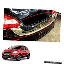クロームメッキ Tailgate Bumper Step Guard Cover Chrome To...