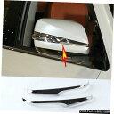 クロームメッキ 2pcs Car Rearview Side Mirror Cover Trim S...